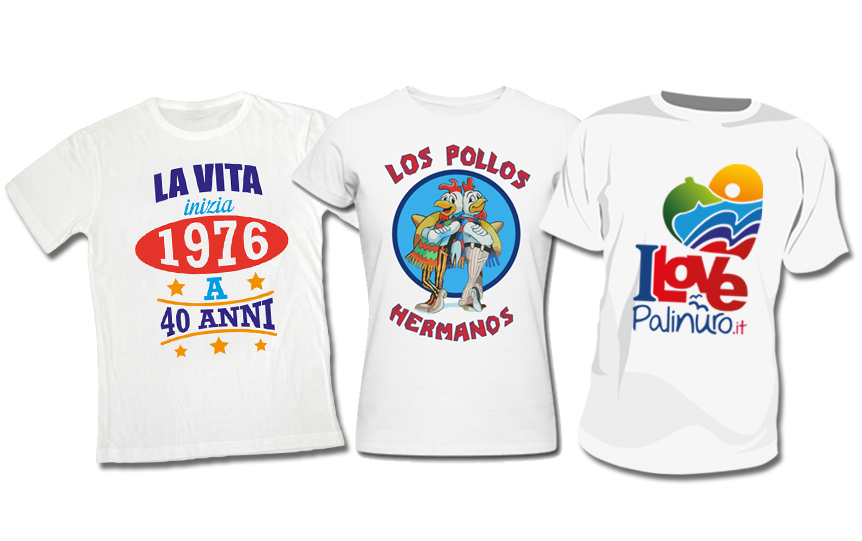 Stampa T-Shirt Personalizzate